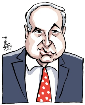 Benjamin Netanyahu (drawing by Moshik)