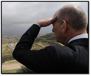 Ehud Olmert, personally looking for Gilad Shalit
