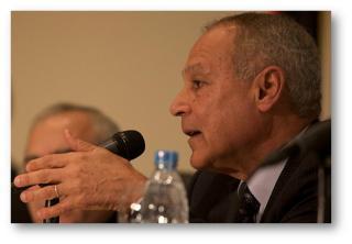 Egyptian Foreign Minister Ahmad Aboul Gheit