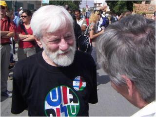 Gush Shalom leader, Uri Avnery