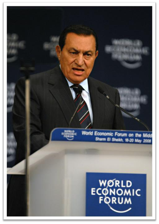Egypt's President - Hosni Mubarak