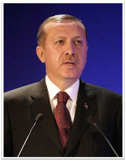 Turkish Prime Minister Tayyib Erdogan