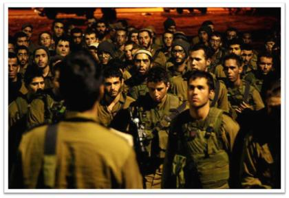 IDF soldiers before battle