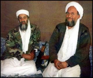 Al Qaeda's Osama Bin Laden and Ayeman al Zawahiri