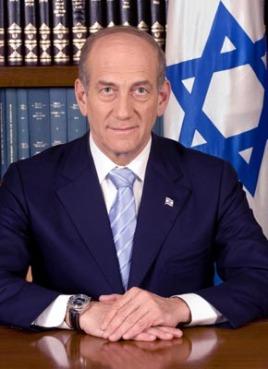 Israeli PM Ehud Olmert