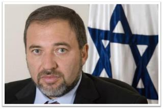 Newly appointed Foreign Minister Avigdor Lieberman