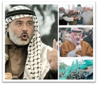 Hamas' Gazan chairman Ismail Haniyeh