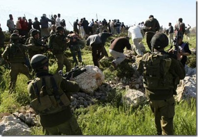 Bat Ayin riots between settlers and Palestinians