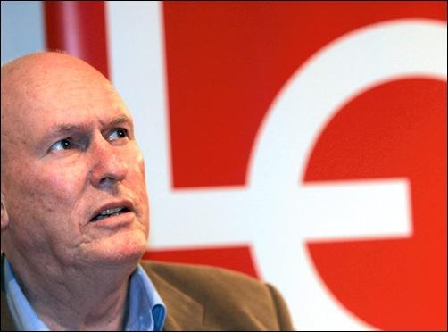 The Norwegian Union leader Roar Flåthen