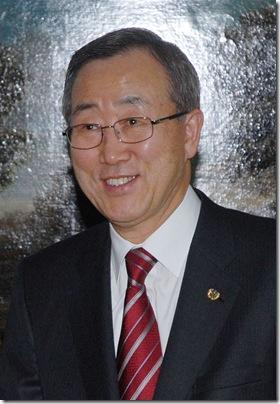 UN - Secretary General - Ban Ki Moon 2