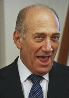 Former Israeli PM Ehud Olmert