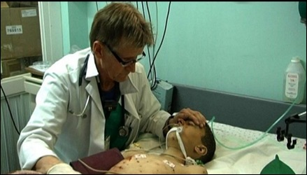 When the lights went out in the Gaza hospital, Mads Gilbert put the blame on Israel. But who put the switch off in the first place