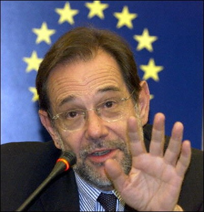 European Union's Foreign Policy Chief Javier Solana