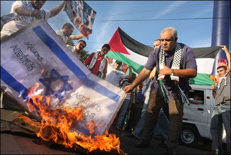 Radical Islam can not accept a two-state-solution. Israel has to go.