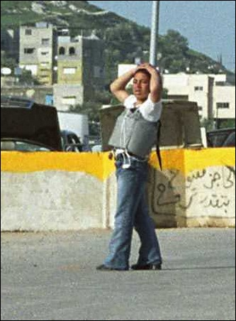 15 years old Palestinian boy arrested with suicide belt at Hawara checkpoint