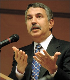 New York Times columnist Thomas L. Friedman