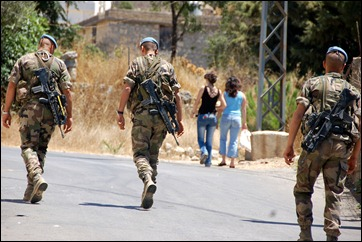 Nasrallah's shields? UNIFIL soldiers in Lebanon