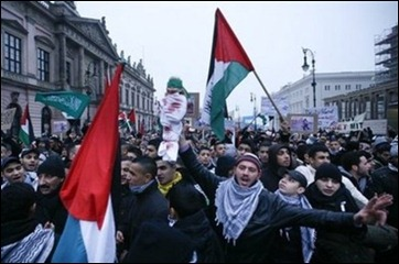 Pro-Palestinian protests in Europe