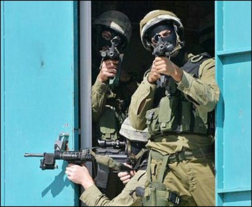 IDF Special Forces operating in the West Bank