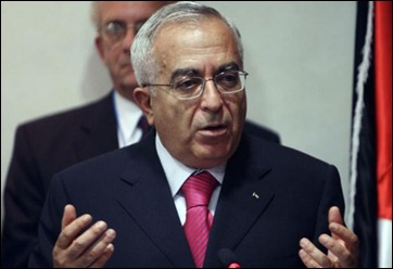 Palestinian PM Salam Fayyad (courtesy: The Independent)