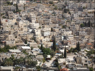 East Jerusalem neighborhood of Silwan