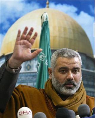 Hamas' Gazan chief Ismail Haniyeh