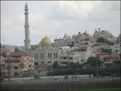 A West Bank mosque