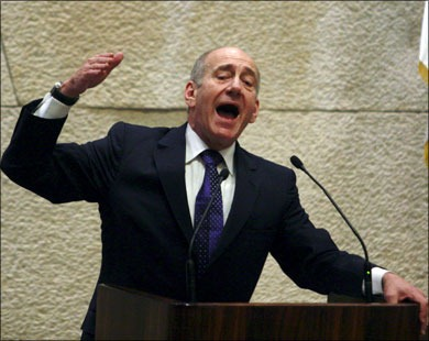 Olmert. Offered all he could - and then some