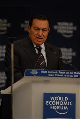 Egypt's Hosni Mubarak