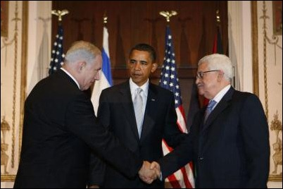 Tension all around. Netanyahu and Abbas.