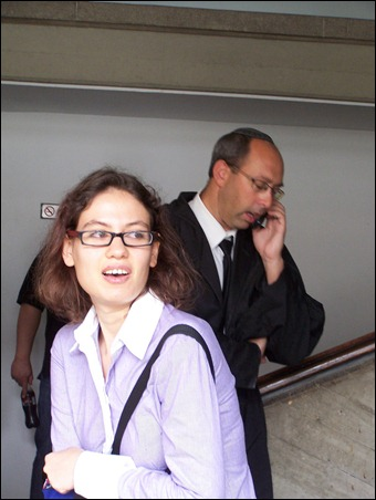 Alleged spy, Anat Kam.