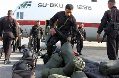 Facing tough mission. Egypt's Special Forces