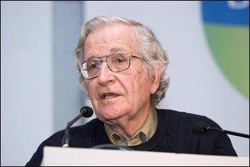 Radical Left-wing activist, Noam Chomsky