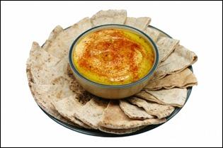 A Hummus plate
