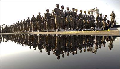 Iran's Revolutionary Guard. Would shoot on sight for Ahmadinejad.
