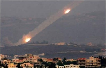Hezbollah firing rockets at Israel. Soon to become nearly obsolete?