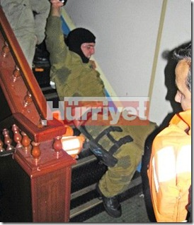 IDF's 'Flotilla 13' soldier attacked and dragged by the IHH